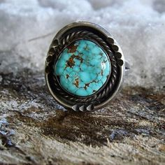 STILL AVAILABLE Vintage sterling silver and Turquoise Mountain ring size 8. This ring is just under 1 inch in length. $45 shipped within the United States. Go to the shop link in my bio for more photos and to purchase!  #turquoise #turquoiseforsale #turquoiseoverdiamonds #silver #rosewoodsprivatecollection #rpc #turquoiselovers #turquoiselove #turquoiseloversunite #vintage #turquoisemountain by rosewoodsprivatecollection