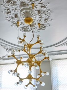 "This marvelous chandelier is from our feature ""Sweet Luxuries"""