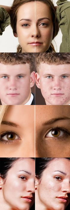 Skin Retouching Action - Photo Effects Actions