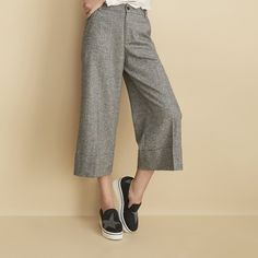 These culottes are GP's take on suiting: comfortable, tomboy-chic, and…
