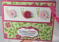 Cute use of Button Buddies Stamp set