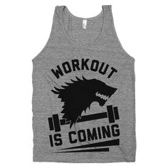 Workout+is+Coming++Mens+Nerd+WorkoutGame+by+stridefitnessapparel,+$22.00