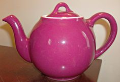 Vintage/Antique Lipton Teapot by Hall by on Etsy Red Teapot, Lipton, Chocolate Pots, Tea Sets, Wonderful Things, Teacups, Tea Time, Vintage Antiques, Things To Think About