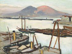 thunderstruck9:  Albert Marquet (French, 1875-19470, La Baie de Naples au soleil couchant [The Bay of Naples at sunset], c.1908. Oil on canvas, 50 x 62.8 cm.
