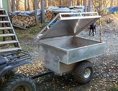 Miller - Welding Projects - Idea Gallery - ATV Trailer with Lid