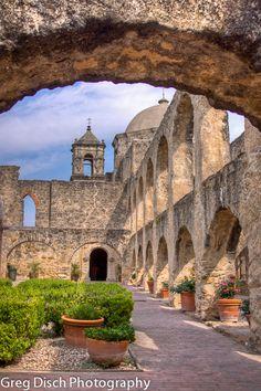 Greg Disch Photography Blog --  San Antonio Missions National Historic Park - Mission San Jose in San Antonio, Texas