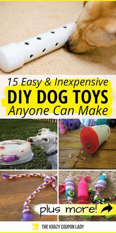 Homemade Dog Toys, Diy Dog Toys, Best Dog Toys, Pet Toys, Best Dogs, Diy Animal Toys, Dog Treat Toys, Dog Enrichment, Interactive Dog Toys