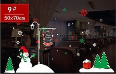 Alimitopia 1PCS Removable Merry Christmas Ball Wall Sticker Decal Mural Home Window Xmas Decor Living Room Bedroom Shop Window Wall Stickers Murals 9 -- Continue to the product at the image link.