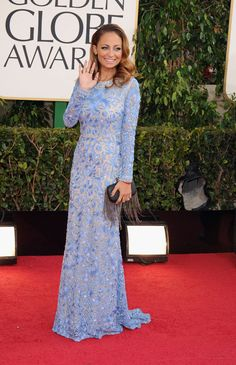 Nicole Richie on the Golden Globes Red Carpet