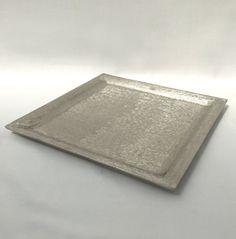 Silver - Square - Sweet / Macaron Platter - Code SSMP31 Cake Stands, Sheet Pan, Platter, Different Cakes, Dessert Table, Silver, Macarons, Celebration Cakes, Sweet