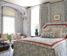 The Glam Pad - elegant living and interior design Beautiful Bedroom Designs, Beautiful Bedrooms, House Beautiful, Bedroom Furniture, Bedroom Decor, Master Bedroom, Glam Bedroom, Bedroom Red, Bedroom Ideas