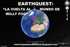 Proyecto completo earthquest la vuelta al mundo en 80 dias Around The Worlds, Earth, Image, Homeschooling, Africa, Videos, Carnival, Dinosaur Games, Book Week