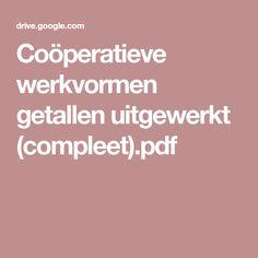 Coöperatieve werkvormen getallen uitgewerkt (compleet).pdf