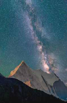 noizzex: Xianuo duoji,Sichuan,milkyway | by... - Nature is Life