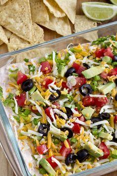 Taco Dip Recipe {Skinny}