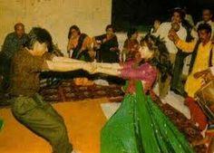Shah Rukh and Gauri enjoying their wedding celebrations