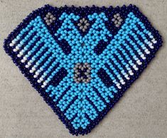 Native American Jewellery, Mexican Jewelry, Beading Projects, Beaded Flowers, Perler Beads, Beaded Earrings, Beadwork, Nativity, Diy And Crafts