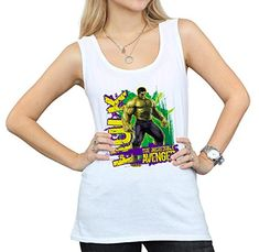 cb6e4010 Marvel Women's Avengers Hulk Incredible Avenger Tank Top #Hulk #Marvel # TankTop #Clothes #MarvelMerch #Superhero #Avengers #Superherostuff  #MarvelAvengers