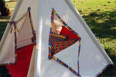 kit cabana de tecido almofadas edredom