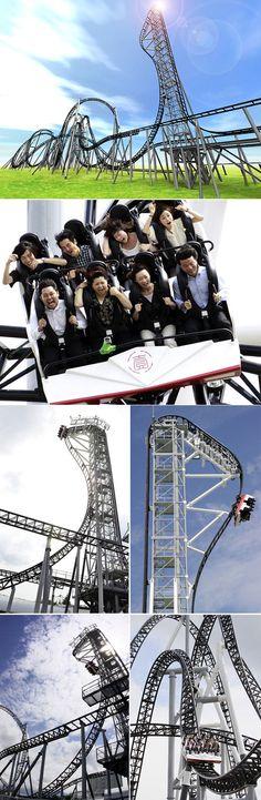 Fuji-Q Highland Amusement Park, Yamanash-Jepang.