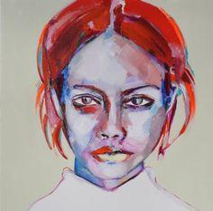 "Saatchi Art Artist Patricia Derks; Painting, ""I..like you (sold)"" #art"