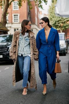 The Latest Street Style From London Fashion Week | Who What Wear UK #streetclothing