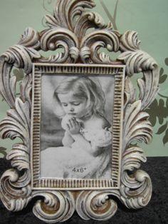 Shabby Chic Vintage Scroll Frame