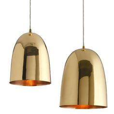 Savoy Polished Brass Pendant Light