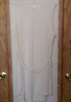 H&M NWT CREAM XL DRESS #HM #Maxi #SummerBeach