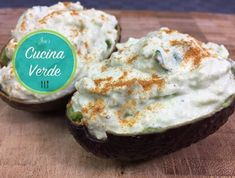 Avocadoaufstrich mit Frischkäse - Rezept von Joes Cucina Verde Camembert Cheese, Dips, Muffin, Breakfast, Food, Cream Cheese Recipes, Food Portions, Food Food, Bakken