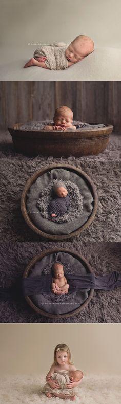 Des Moines, Iowa newborn photographer, Darcy Milder   His & Hers #newbornbabyphotography