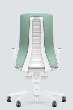 PURE INTERIOR Edition 12 #Türkis Mehr Design für dein #HomeOffice. Mit einer vielfältigen und hochwertigen Stoffauswahl und ihrem ergonomischen Design vereint die PURE INTERIOR Edition bequemes und ergonomisches Sitzen. Das Design und die Farbgebung des PURE machen ihn zu einem optischen Leichtgewicht. Farblich abgestimmt bringt er sich in das Home Office ein und kann sich gleichzeitig zurücknehmen. #schreibtischstuhl #arbeitszimmer #design #Stoff #interstuhl Home Office, Pure Home, Designer, Interiordesign, Pure Products, Furniture, Home Decor, Office Chairs, Vehicle