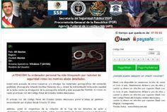 Procuraduría General de la República Ransomware-Infektion ist sehr schädlich für das System, damit es mit der Hilfe von General de la Procuraduría República Removal Tool entfernt werden müssen.