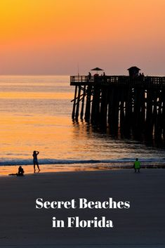 These 10 hidden beaches may lack lifeguard stands, but you'll trade the mass mentality for the off-the-beaten-path allure of natural beauty. Places In Florida, Florida Vacation, Florida Travel, Florida Beaches, Vacation Spots, Travel Usa, Florida Keys, Florida Resorts, Visit Florida