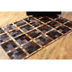 Прямоугольный ковер из кожи и меха Foster #carpet #carpets #rugs #rug #interior #designer #ковер #ковры #коврыизшкур #шкуры #дизайн #marqis