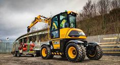 JCB Creates Jobs To Build New Hydradig in Staffordshire