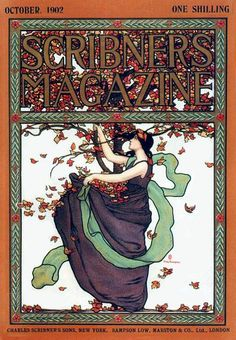 Scribners cover - October 1902 by Mills Thompson