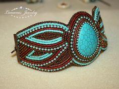 How To Make Alphabet Friendship Bracelets - Embroidery Patterns Embroidery Bracelets, Bead Embroidery Jewelry, Beaded Embroidery, Seed Bead Jewelry, Beaded Jewelry, Handmade Jewelry, Jewellery, Fabric Beads, Fabric Jewelry