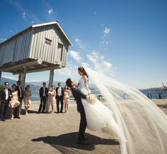 cool vancouver wedding Ha sorry for the spam, but #onceinalifetime right?  #wedding #mikeestherwang #weddingveil #weddingdress #coalharbour #vancitywedding #vancouver #brideandgroom #icanfly by @lovexesther  #vancouverwedding #vancouverweddingdress #vancouverwedding