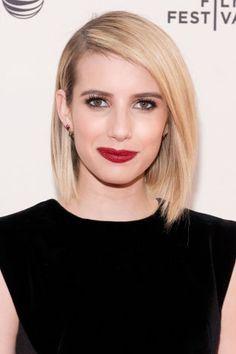 Blondes we love: Emma Roberts' vanilla hues.