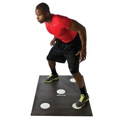 Improve foot speed, reaction time and balance.