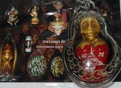 awesome MAE HONG PRAI AMULET by AJARN POON - THAI Shamanism SORCERY GHOST BUSINESS MONEY - STUNNING MAE HONG PRAI AMULET from Ajarn Poon of Ubon RatchathaniThis is a female ghost that is super for business.I love to find amulets from the Gur... #amulets #occult #Thailand Check more at http://www.thaisorcery.com/product/mae-hong-prai-amulet-by-ajarn-poon-thai-shamanism-sorcery-ghost-business-money/