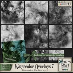 CU ~ Watercolor Overlays 7