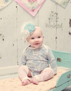 Baby Girl Clothes Onesie Organic Cotton Newborn by TheCuddleLoom, $35.00