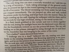 """I challenge you to a duel!"", Behemoth the cat.  The Master & Margarita, Mikhail Bulgakov"