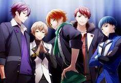 Shuu Kuga, Toru Nayuki, Yuta Hoshitani, Kaito Tsukigami & Kakeru Tengenji - High School Star Musical (STARMYU) Team Otori