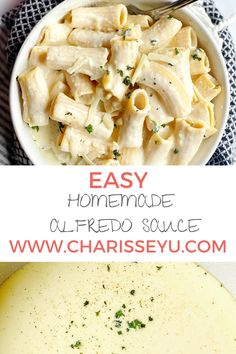 Alfredo sauce is one of my faves! What if I told you you can make this easy homemade alfredo sauce in 15 minutes for an easy weeknight pasta dinner? It's versatile too - you can keep it vegetarian, or add chicken or shrimp Pasta Recipes For Kids, Vegetarian Meals For Kids, Best Dinner Recipes, Vegetarian Recipes, Fall Recipes, Easy Toddler Meals, Easy Meals For Kids, Quick Easy Meals, Easy Family Dinners
