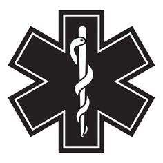 EMS Star of Life Sticker (Star Only)