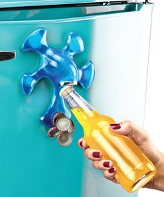 Another great find on #zulily! Blue Magnetic Bottle Opener by Tovolo #zulilyfinds