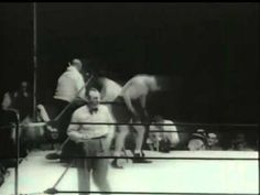 The last knockdown of Baer occurred after the bell, according to Baer's manager, who then refuses to leave. Joe Louis, Boxing Fight, Sports Photos, Greatest Hits, Legends, Gloves, Photo And Video, Brown, Youtube